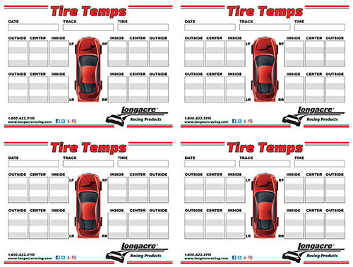 Longacre Tire Temps