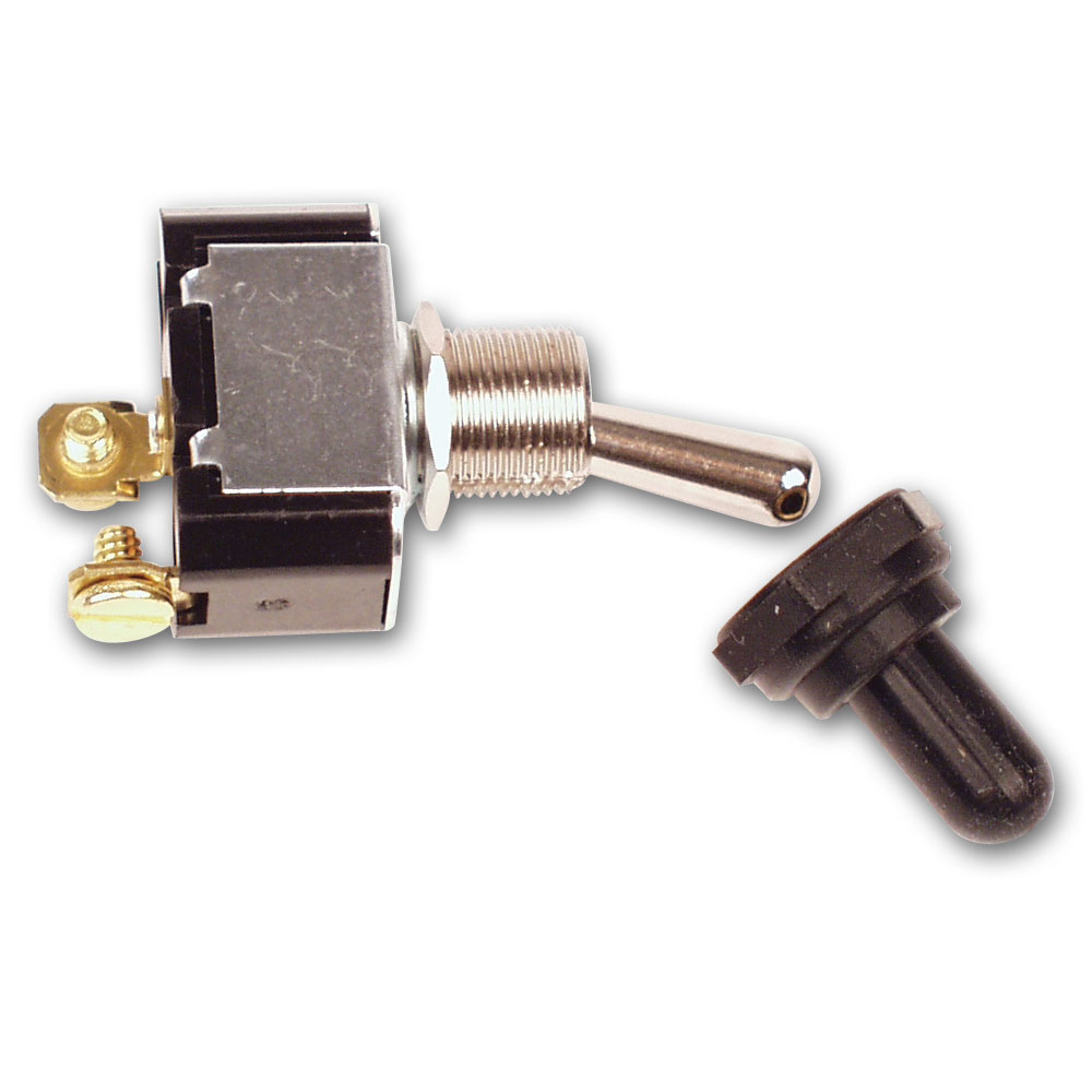2 Terminal HD Ignition Switch w/ Weatherproof Cover