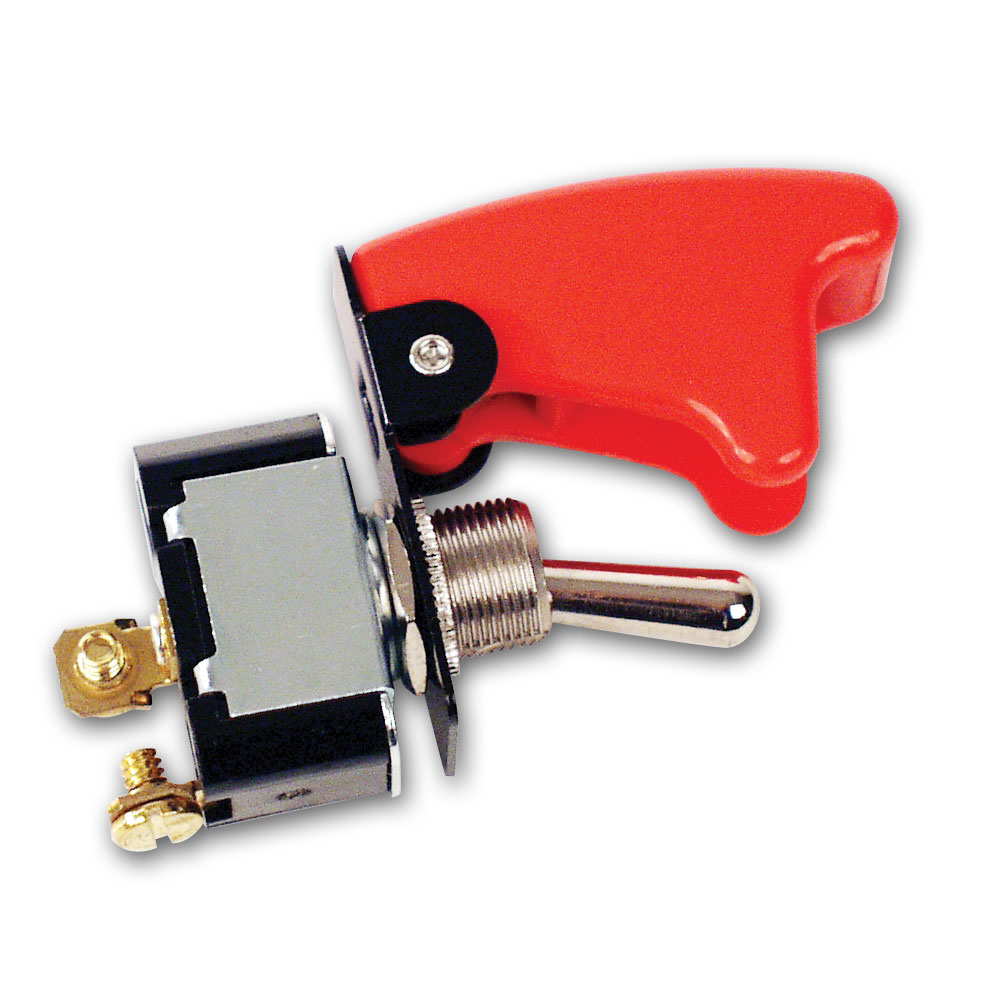 2 Terminal HD Ignition Switch w/ Flip-Up Cover