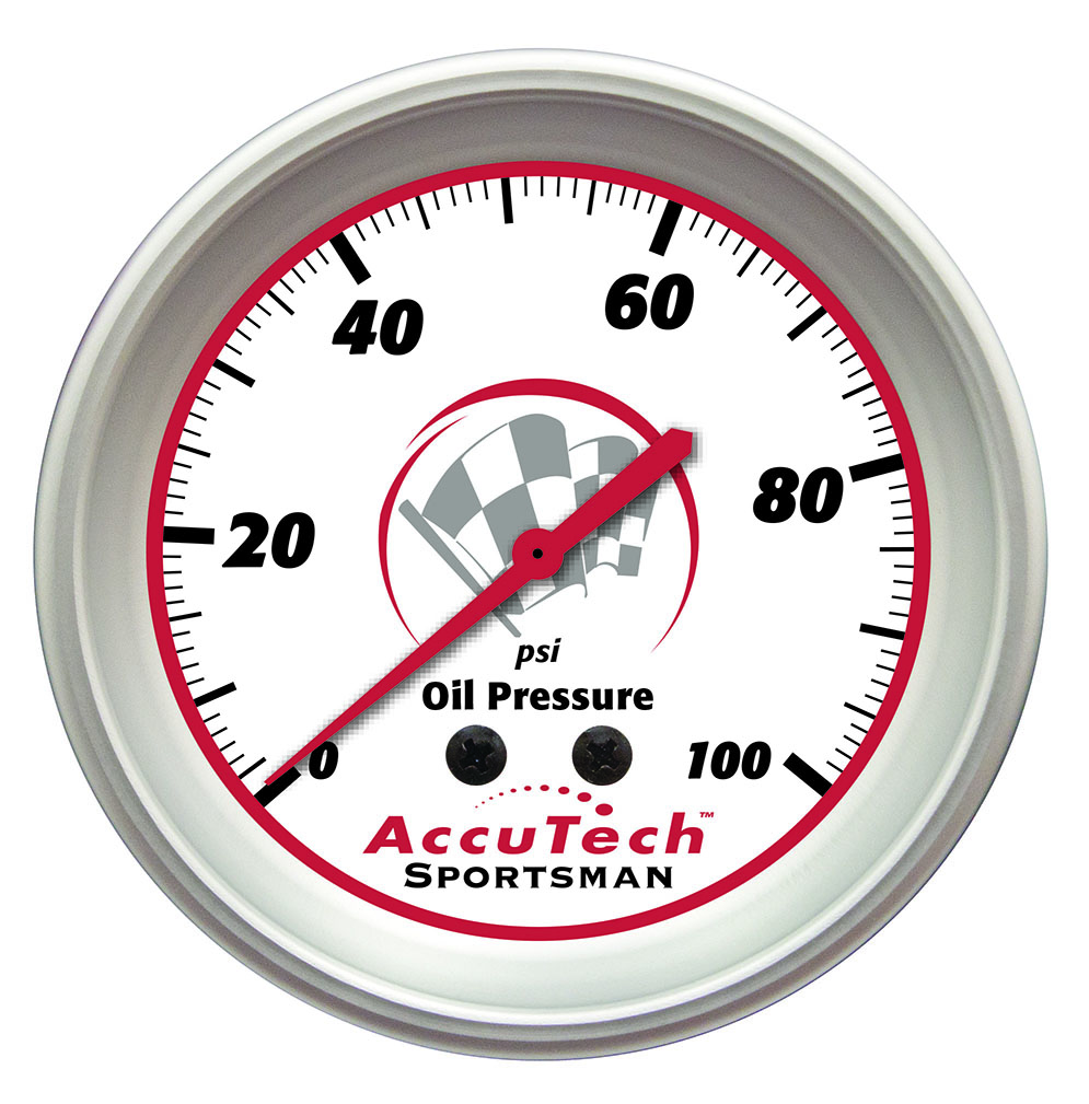 Sportsman™ Oil Pressure Gauge 0-100 psi