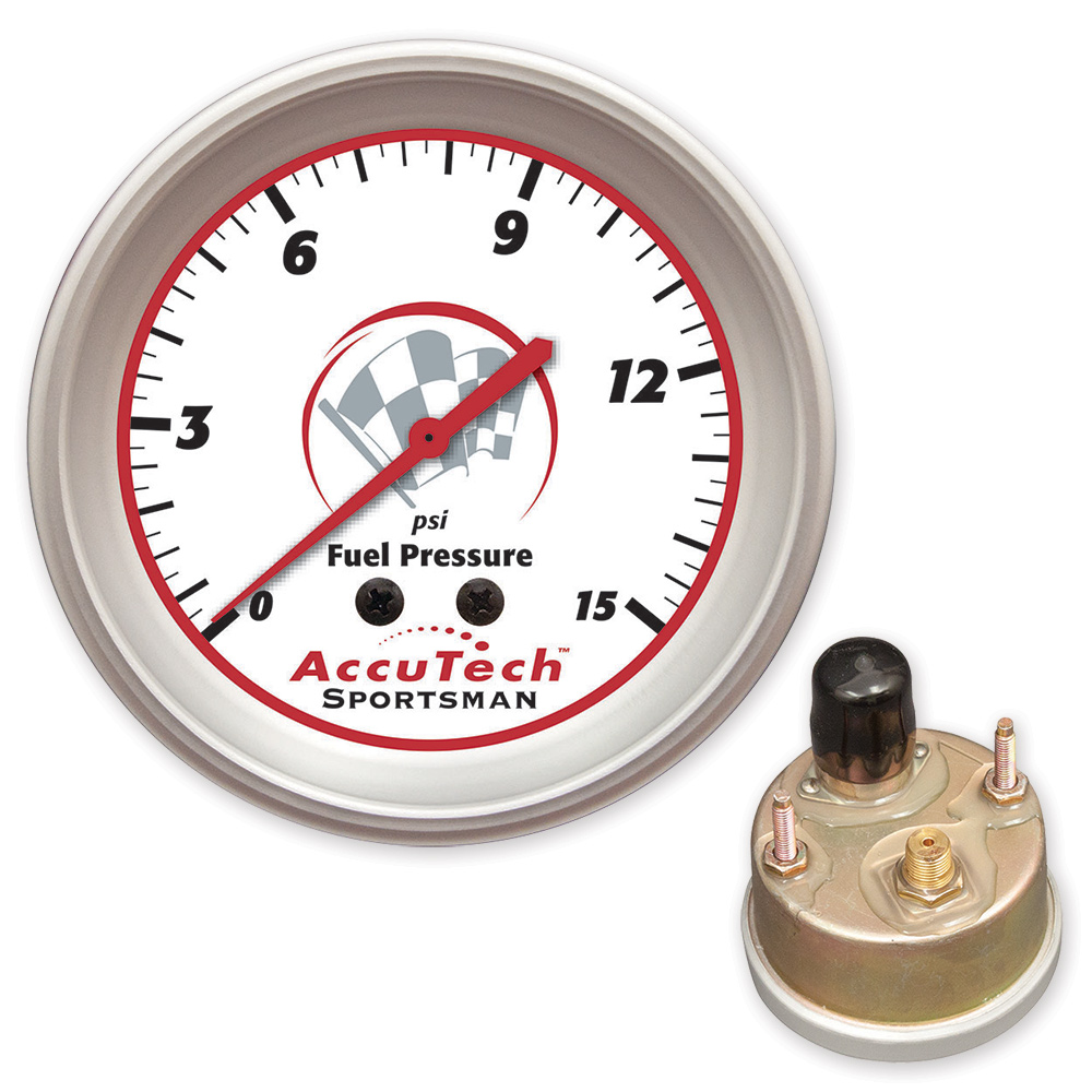 AccuTech™ Sportsman™ 2015 Weather Resistant Fuel Pressure Gauge