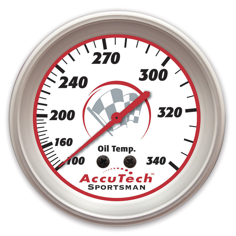 AccuTech™ Sportsman™ Oil Temp Gauge