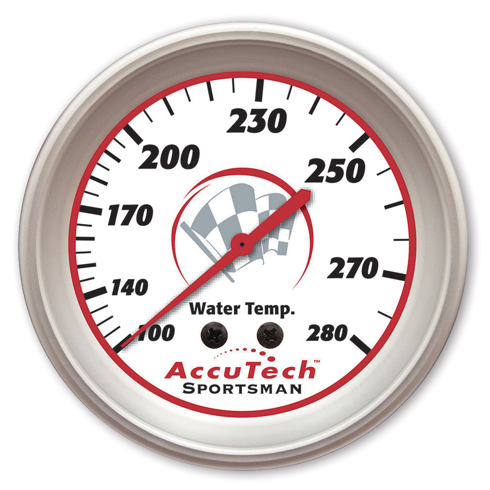 AccuTech™ Sportsman™ Aluminum Water Temp Gauge