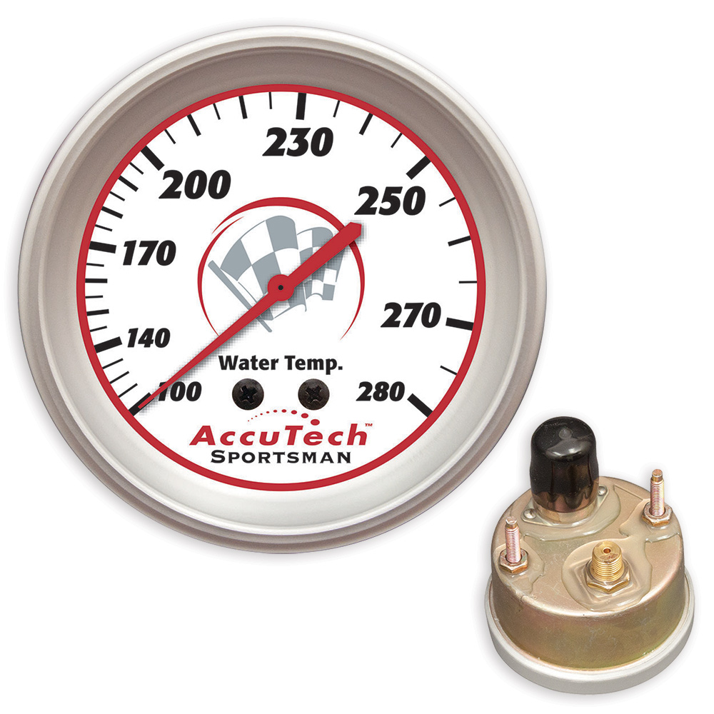 AccuTech™ Sportsman™ 2015 Weather Resistant Water Temp Gauge