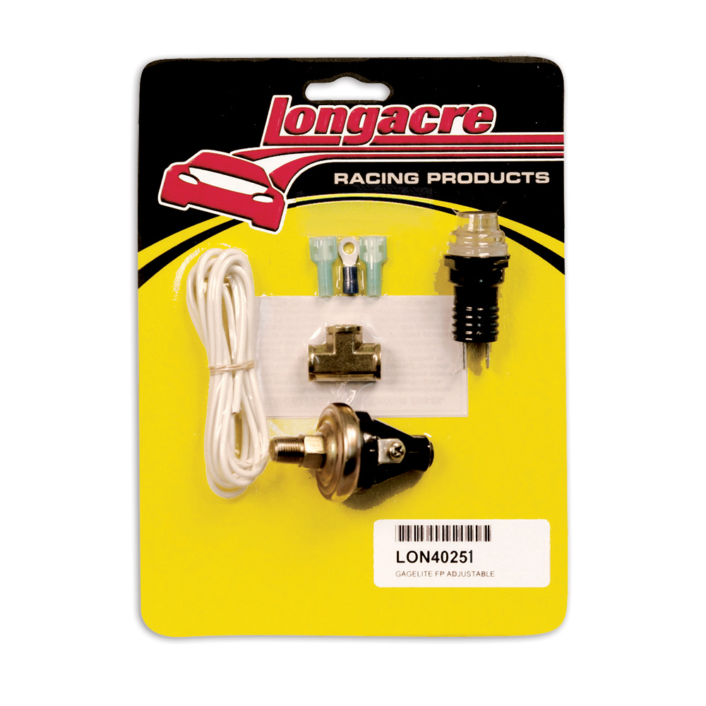 "Gagelites Warning Light Kit - 4 psi FP 1/8"" NPT"