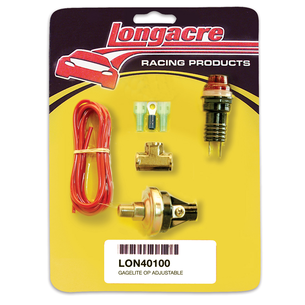 "Gagelites Warning Light Kit - 15-50 psi Oil Pressure 1/8"" NPT"