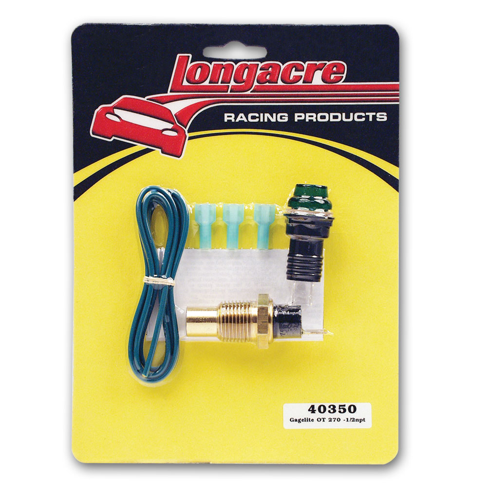 "Gagelites Warning Light Kit - 270º Oil Temp 1/2"" NPT"