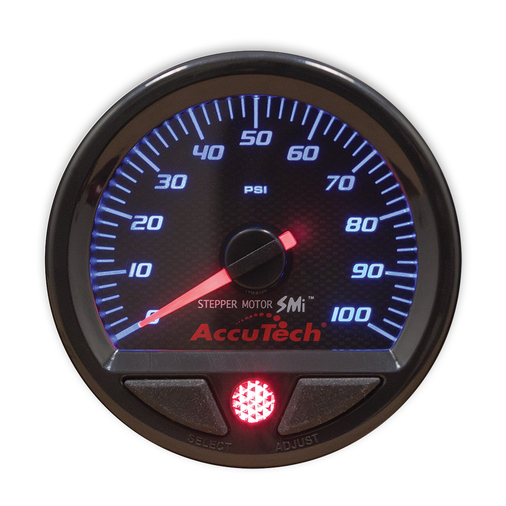 AccuTech™ SMi™ Fuel Pressure Gauge - 0-100 psi