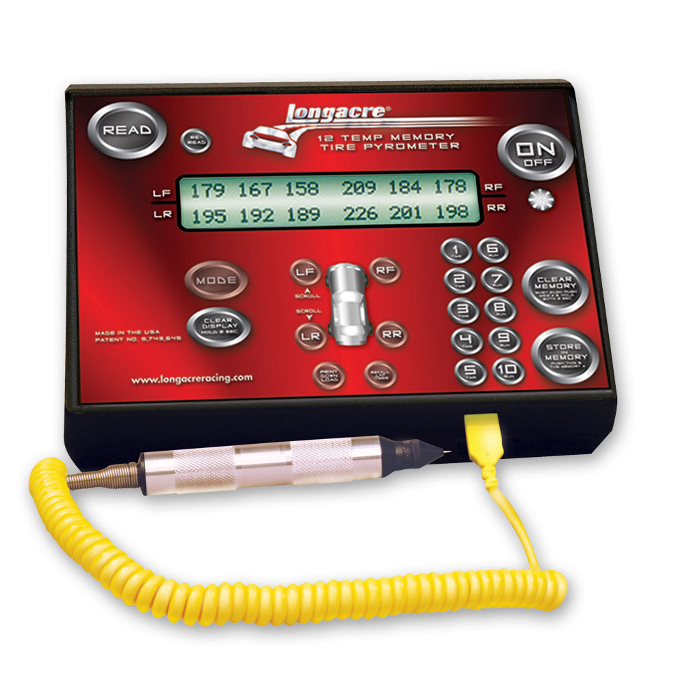 Deluxe Memory Tire Pyrometer