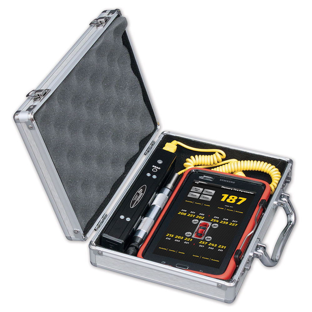 Memory Tire Pyrometer with Tablet