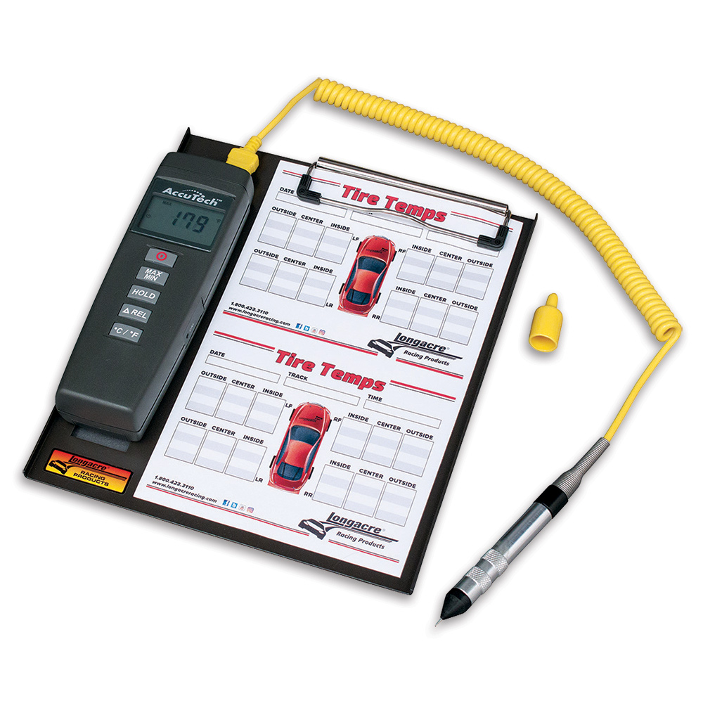 AccuTech™ Deluxe Digital Pyrometer with Clipboard
