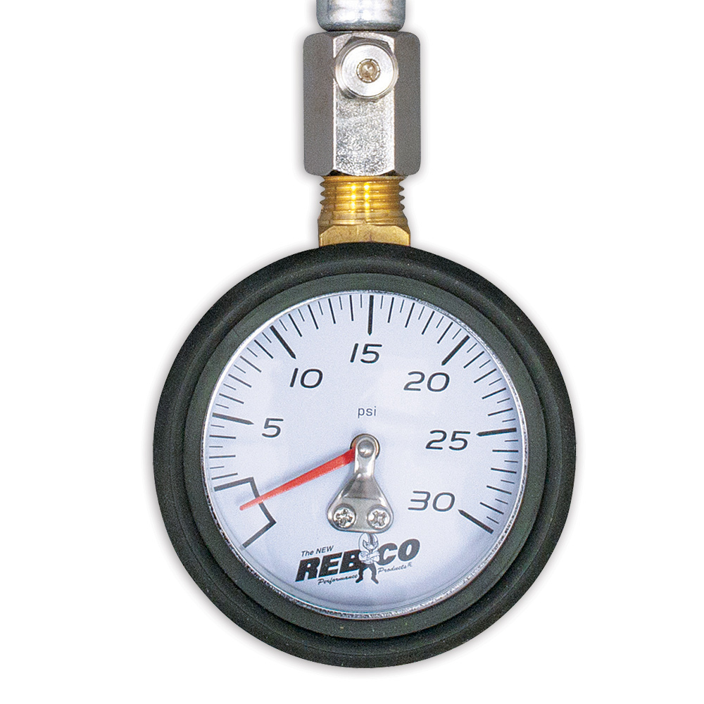 "2"" Standard Air Pressure Gauge - 0-30 psi"