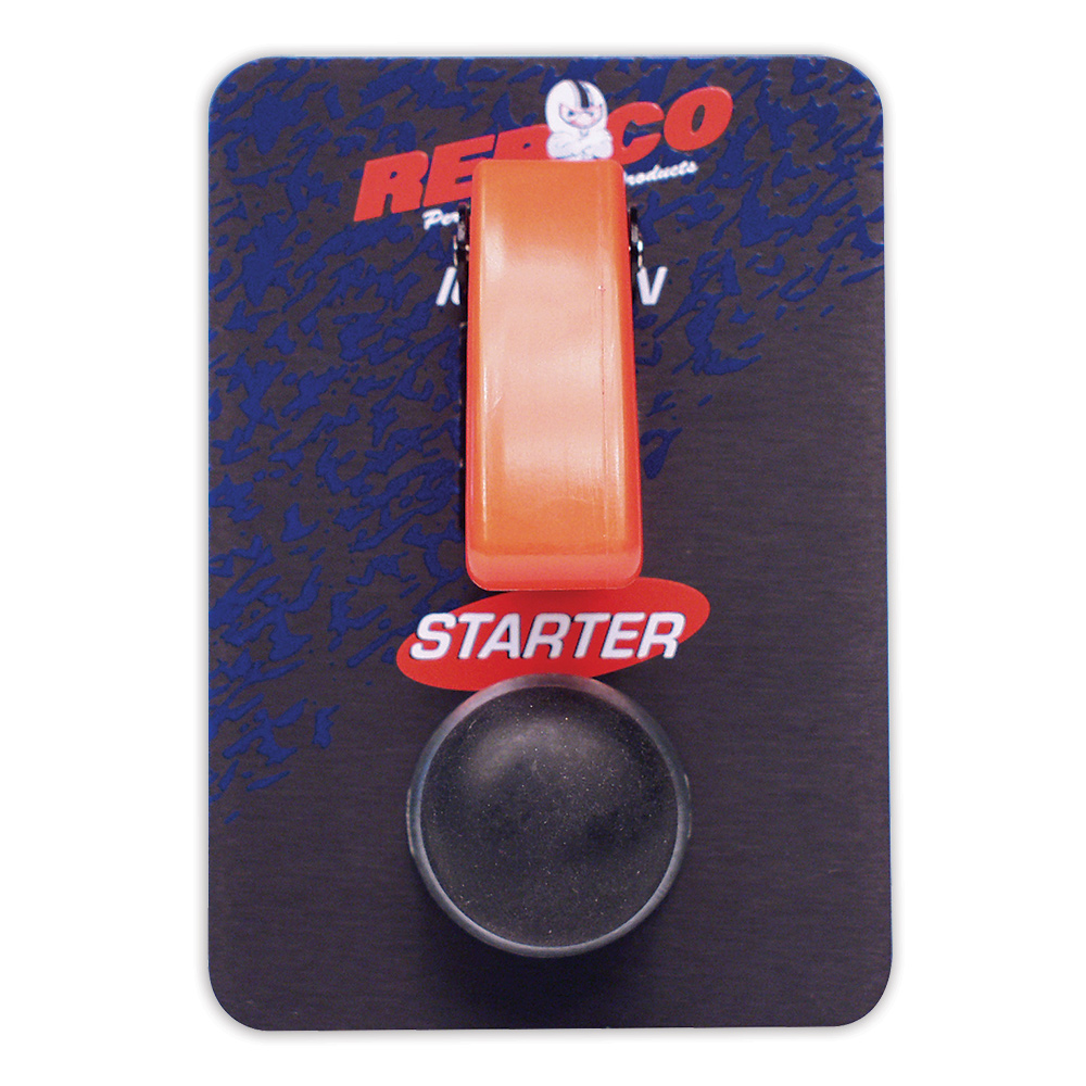 Ignition and Starter Switch with Safety Flip-up Switch Cover
