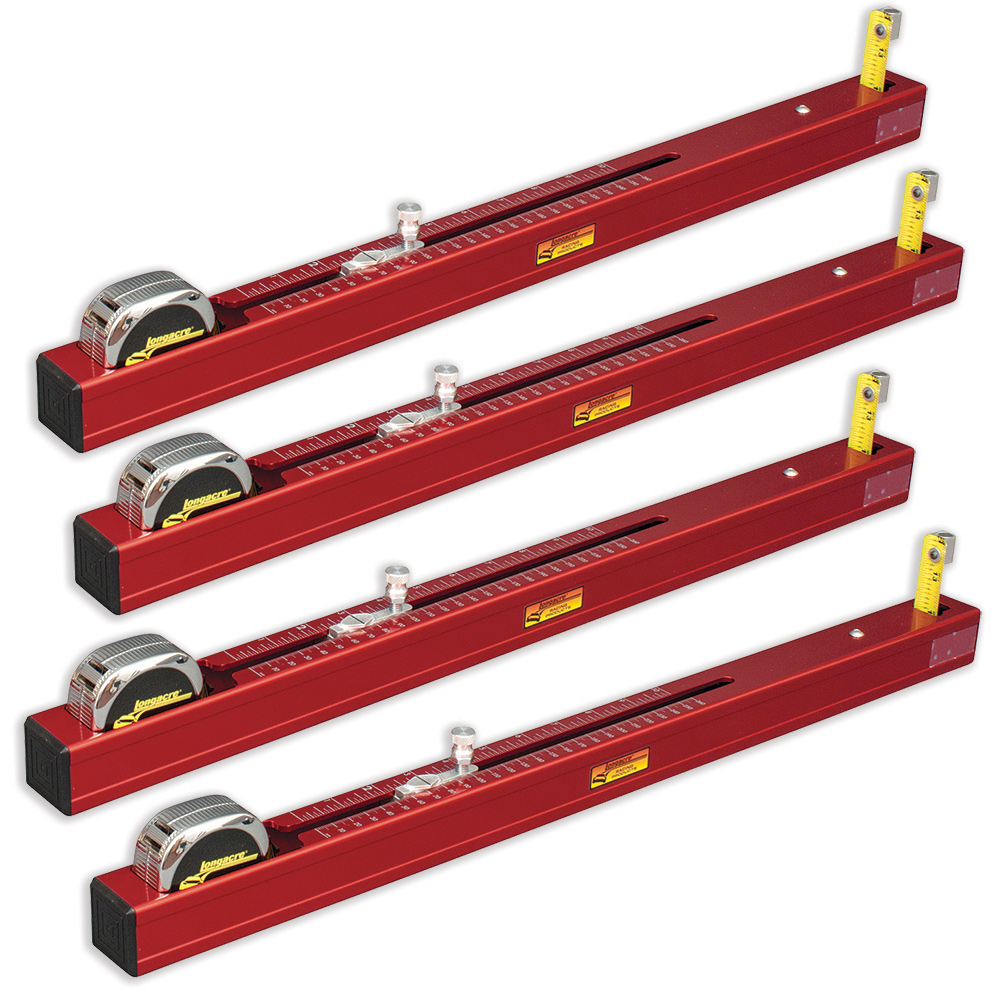 Chassis Height Measurement Tool - Short (Set of 4)
