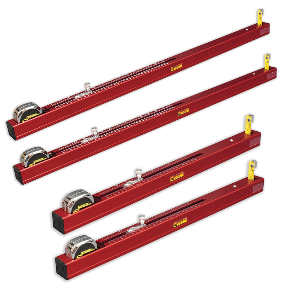 Chassis Height Measurement Tool - Set of 4 (2 short, 2 long)