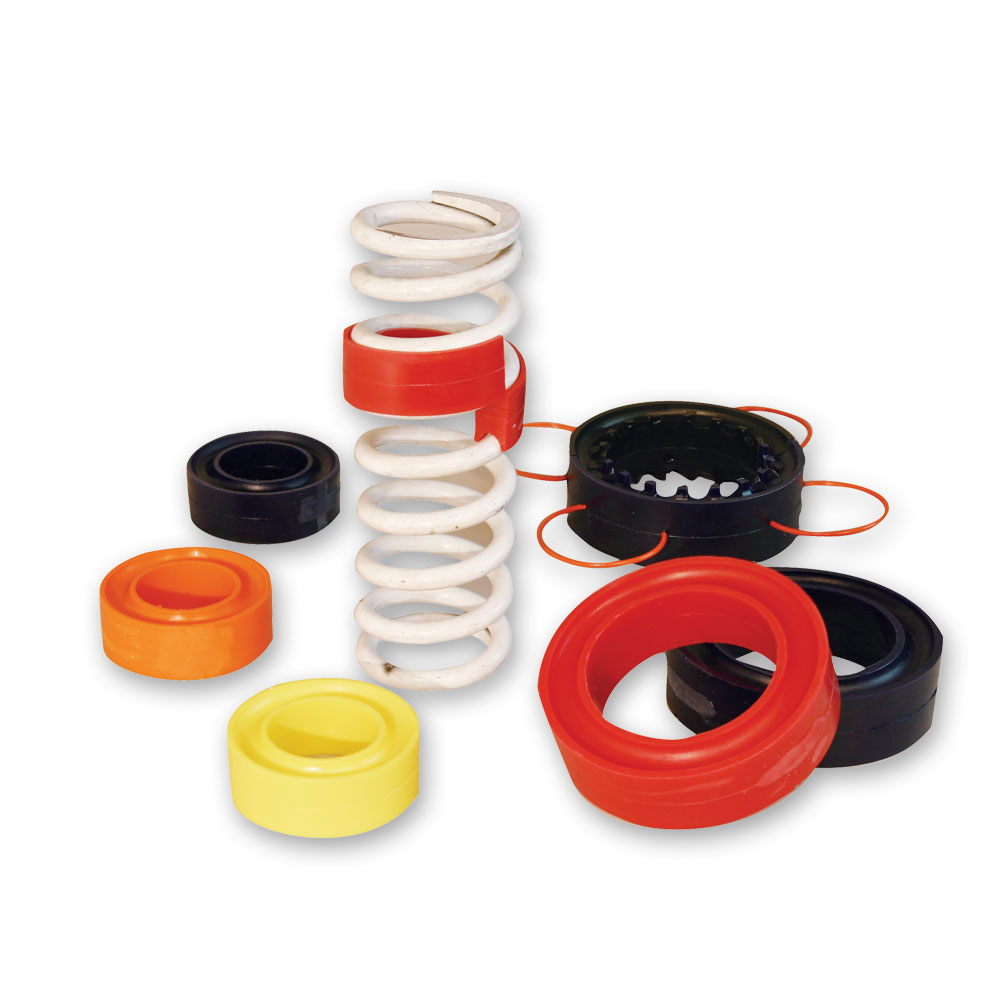 Coil-Over Spring Rubber