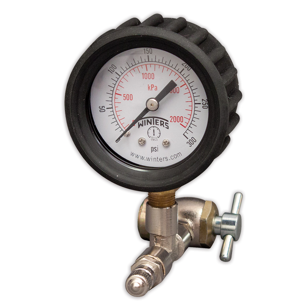 Basic Shock Inflation Pressure Gauge