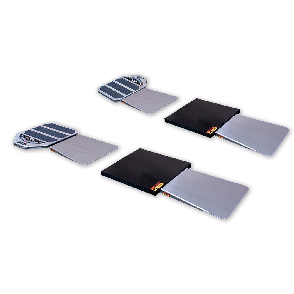 Turn Plate Ramps - Set of 4