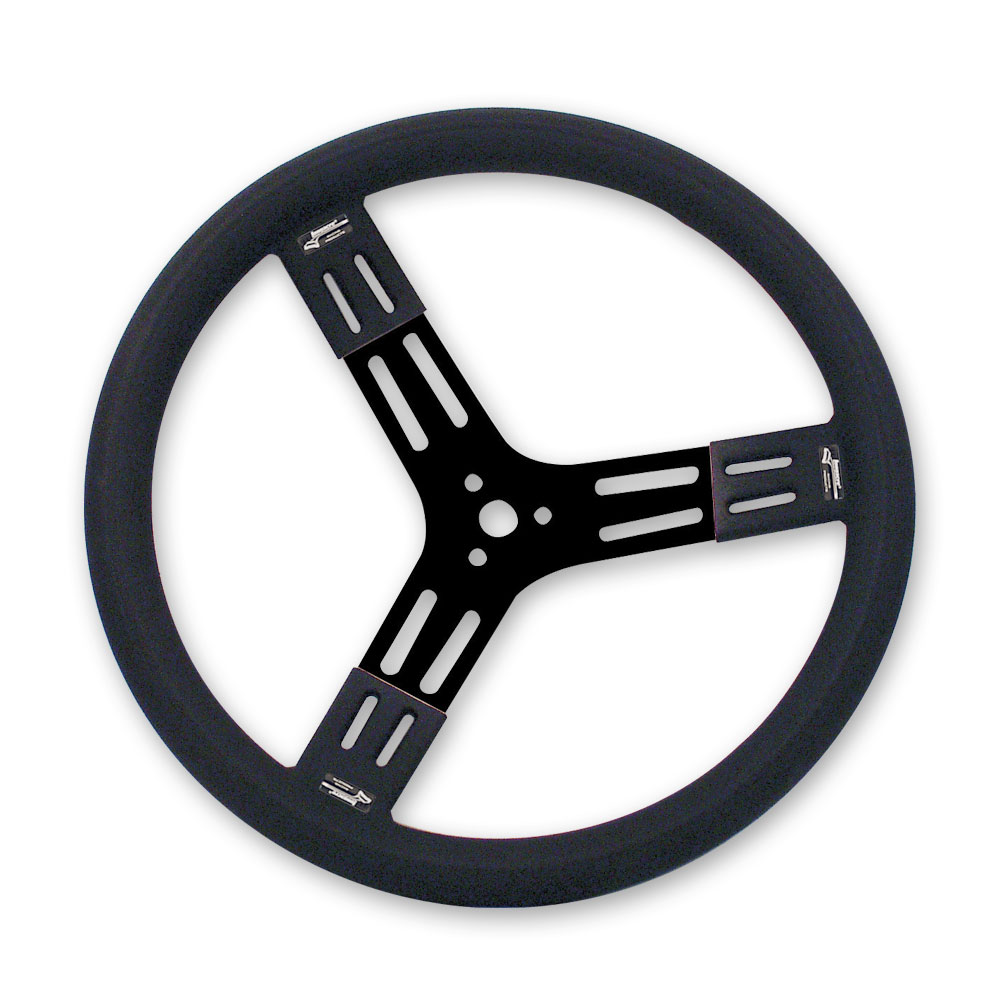 "15"" Fat Grip Aluminum Steering Wheel"