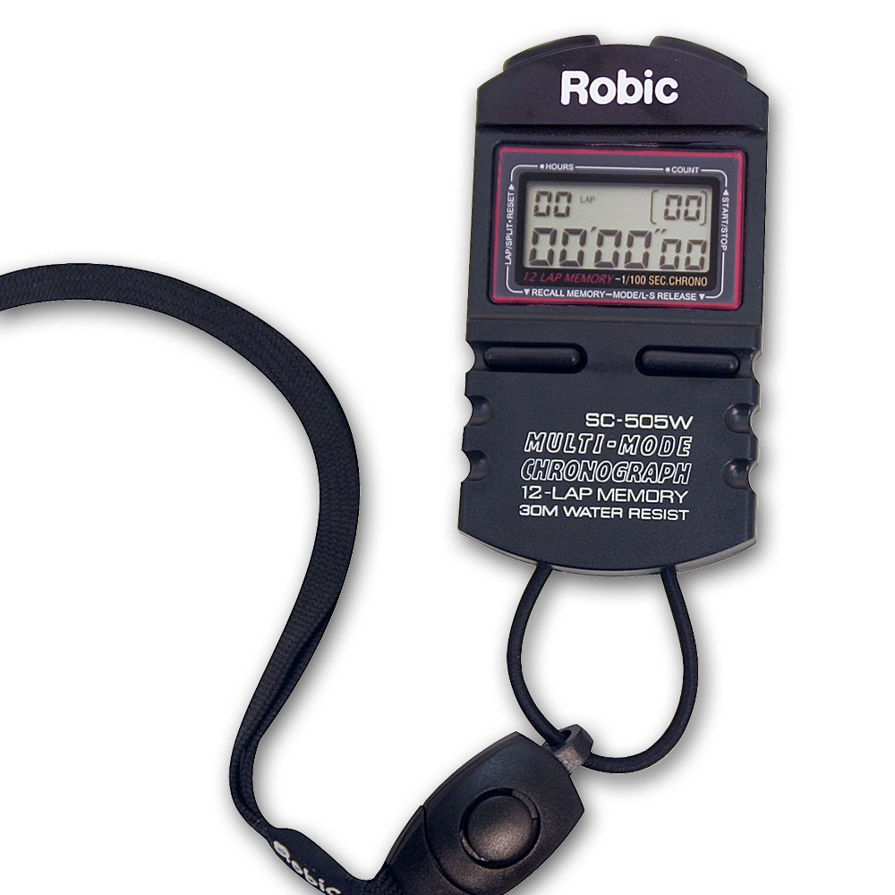 2 Car Stopwatch Clipboard w/ Robic™ SC 505W