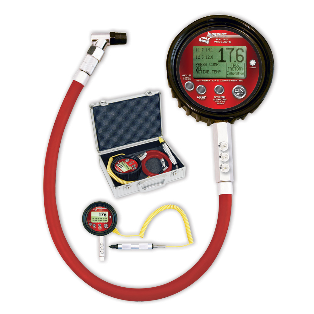 Temperature Compensated Digital Tire Pressure Gauge 0-100 psi