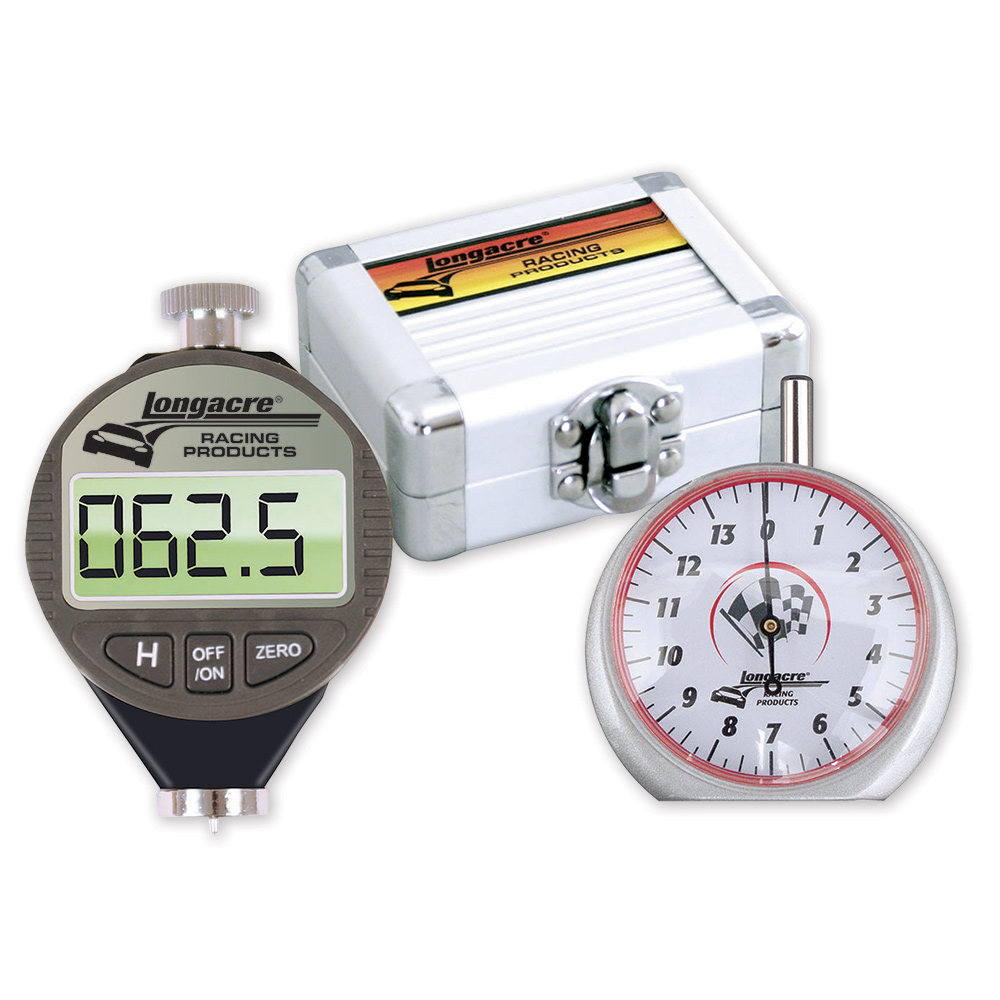 Digital Tire Durometer & Dial Tread Depth Gauge with Storage Case