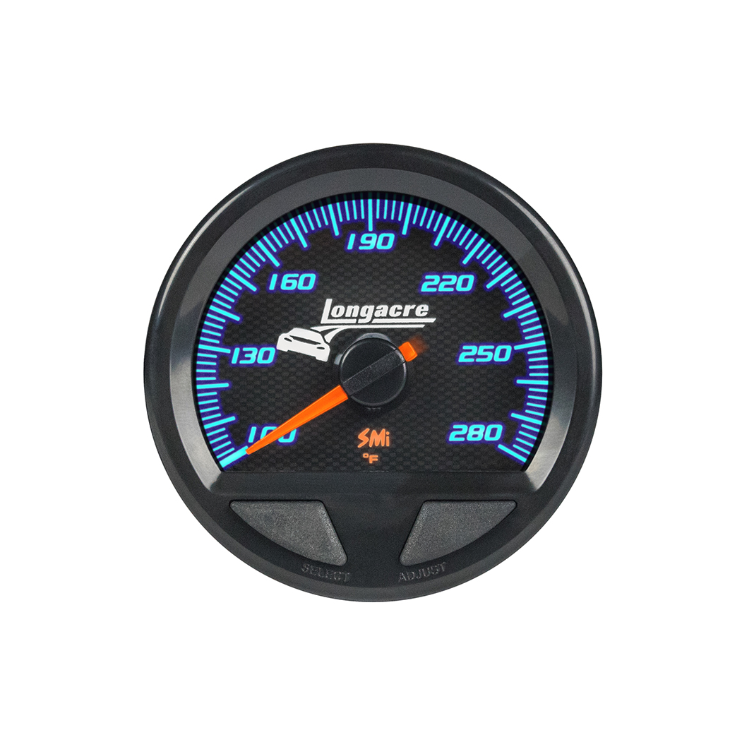 SMi™ Elite Waterproof Gauges, Water Temperature/Oil Temperature 100-280, Sensor Included