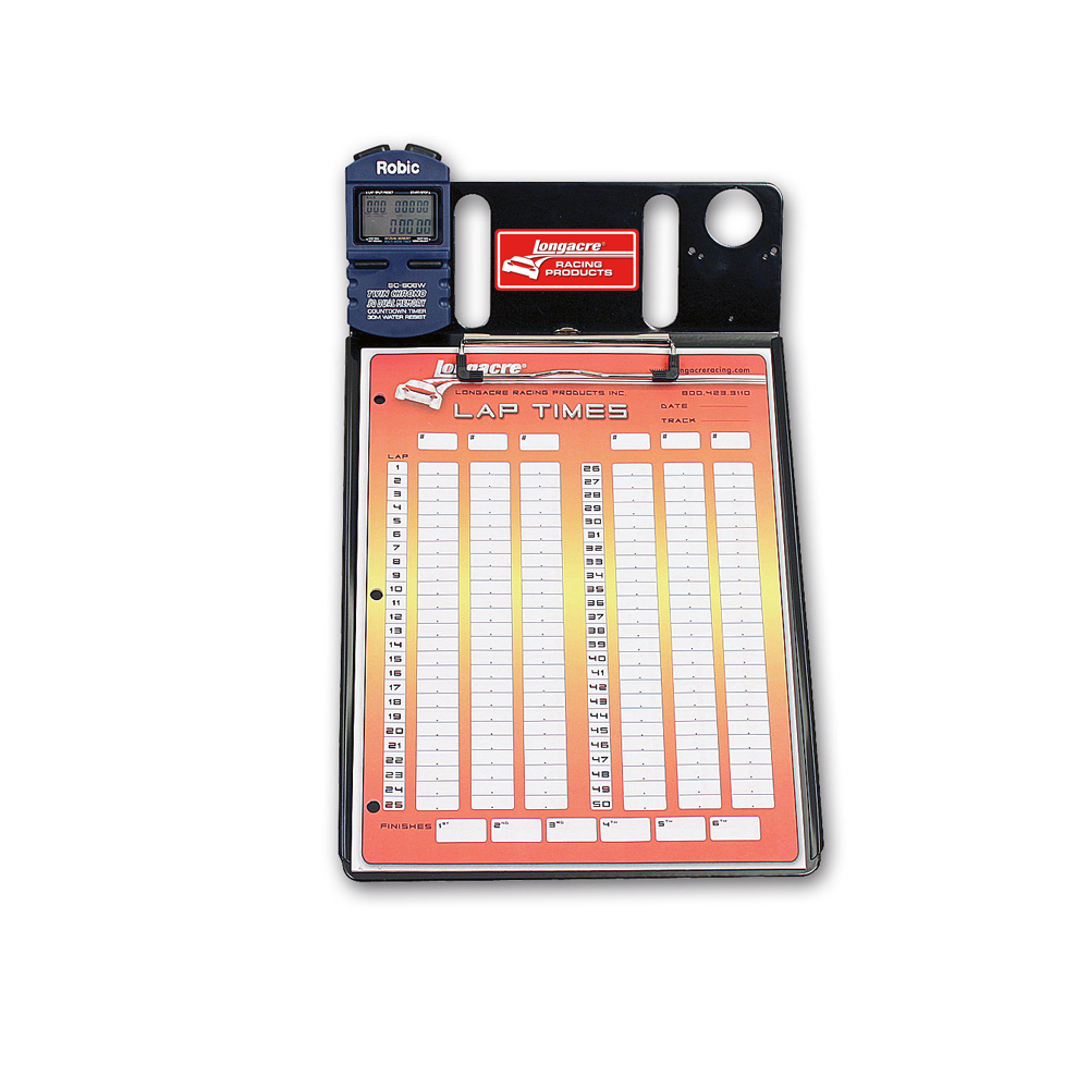 1 Car Stopwatch Clipboard w/ Robic™ SC 606W