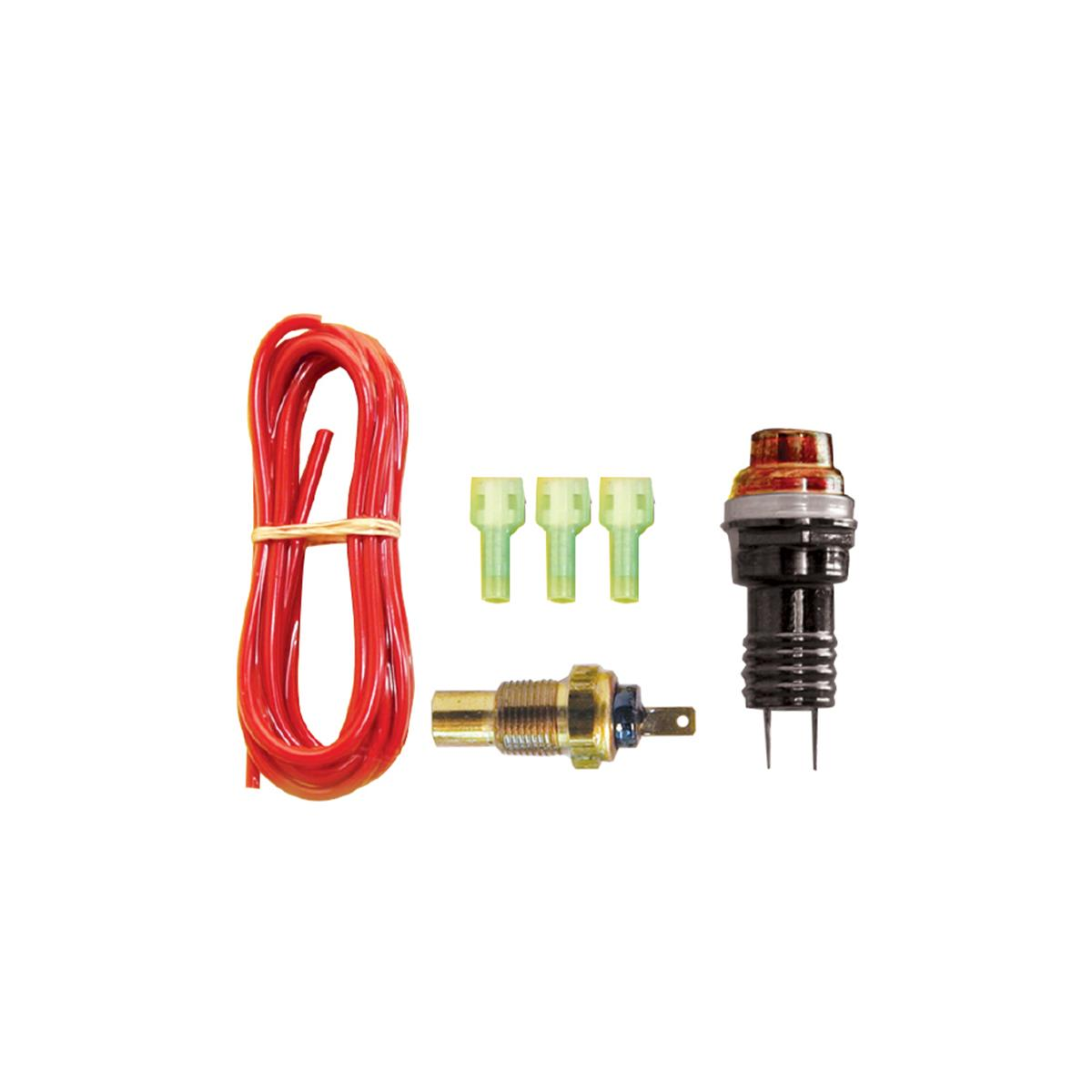 "Gagelites Warning Light Kit - 230º Water Temp 3/8"" NPT"