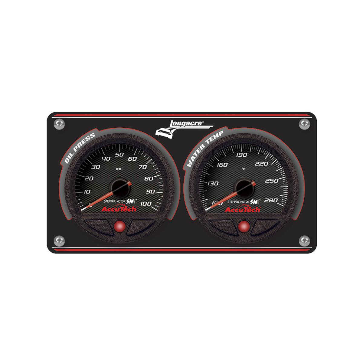 2 Gauge Aluminum Panel with AccuTech™ SMi™ Gauges - OP,WT