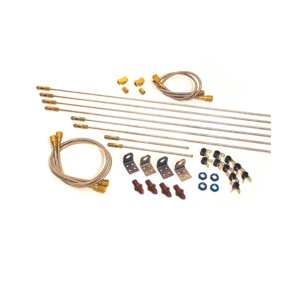 Complete Brake Line Kit - #4 AN