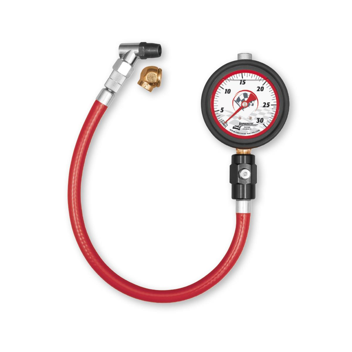 "Liquid Filled 2½"" GID Tire Gauge 0-30 by ½ lb"