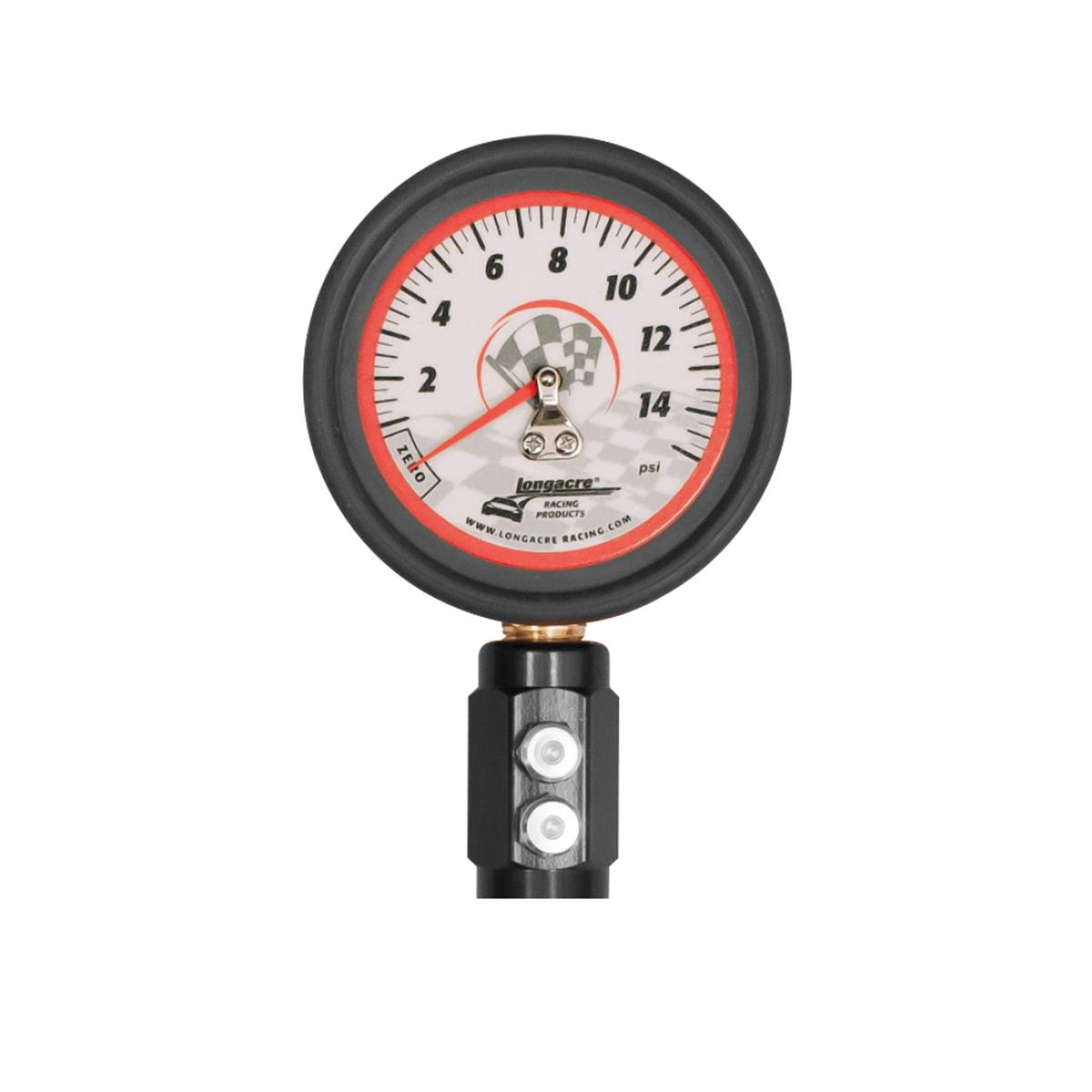 "Deluxe 2 ½"" GID Tire Gauge 0-15 by ¼ lb"