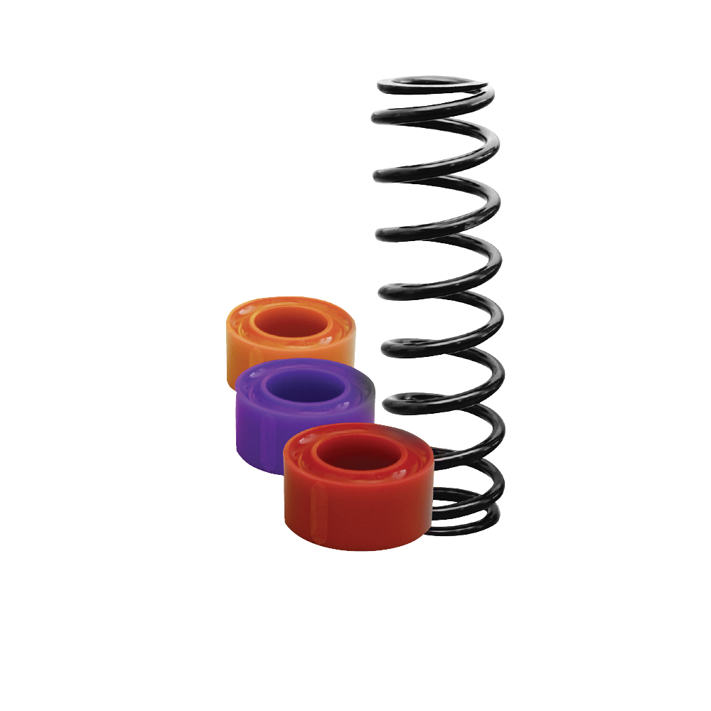 "1 1/4""  Large Spacing Coil-Over Spring Rubber"