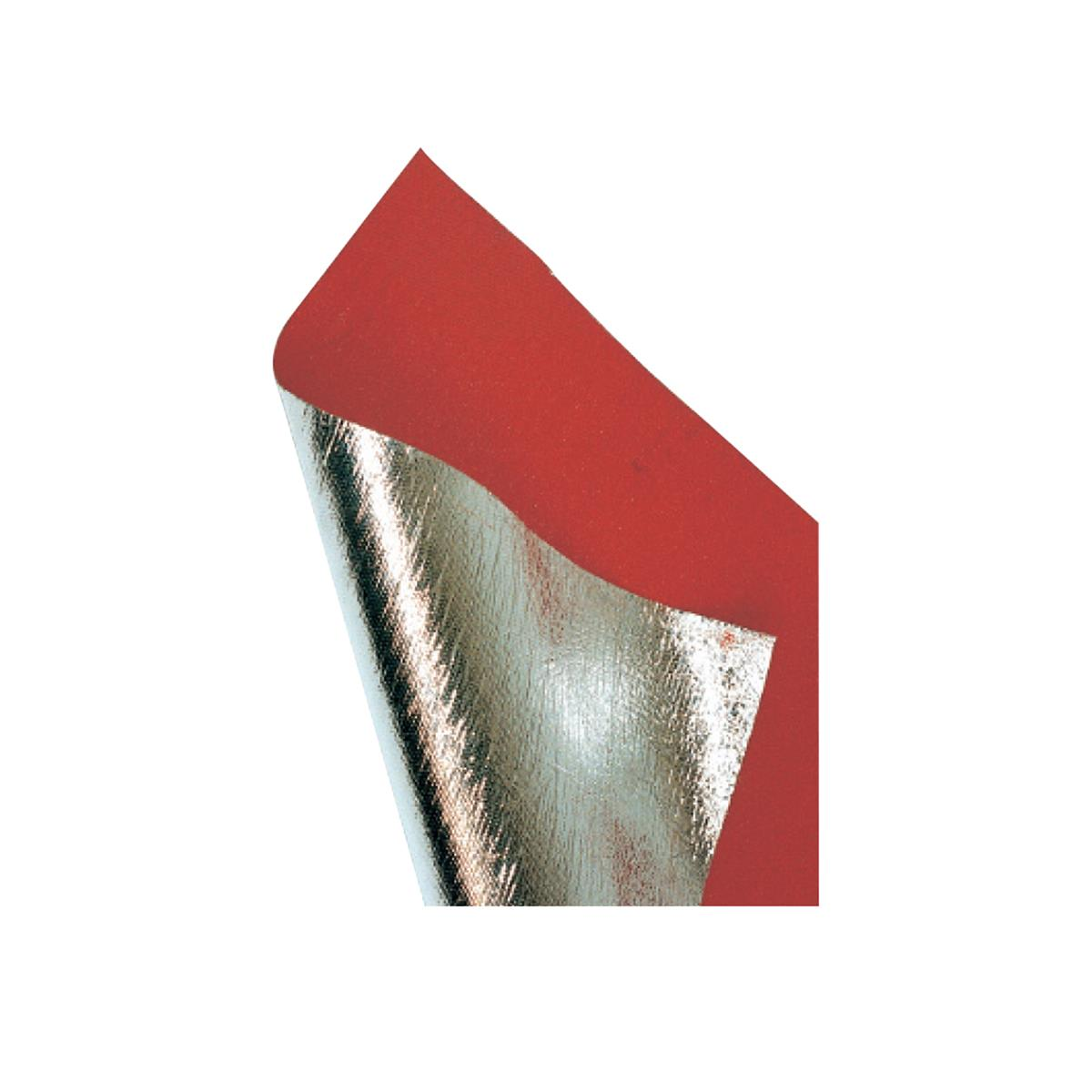 "Aluminized Insulation Cloth - 58"" x 24"""