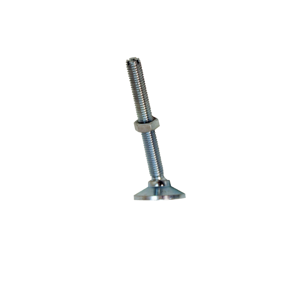 "Replacement Screw-In Steel Swivel Feet - 8"" (Set of 2)"