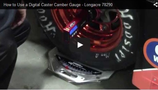 How to use digital caster camber guage