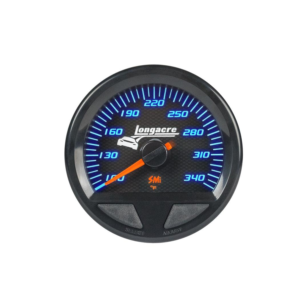 SMi™ Elite Waterproof Gauges, Oil Temperature/Water Temperature 100-340, Sensor Not Included