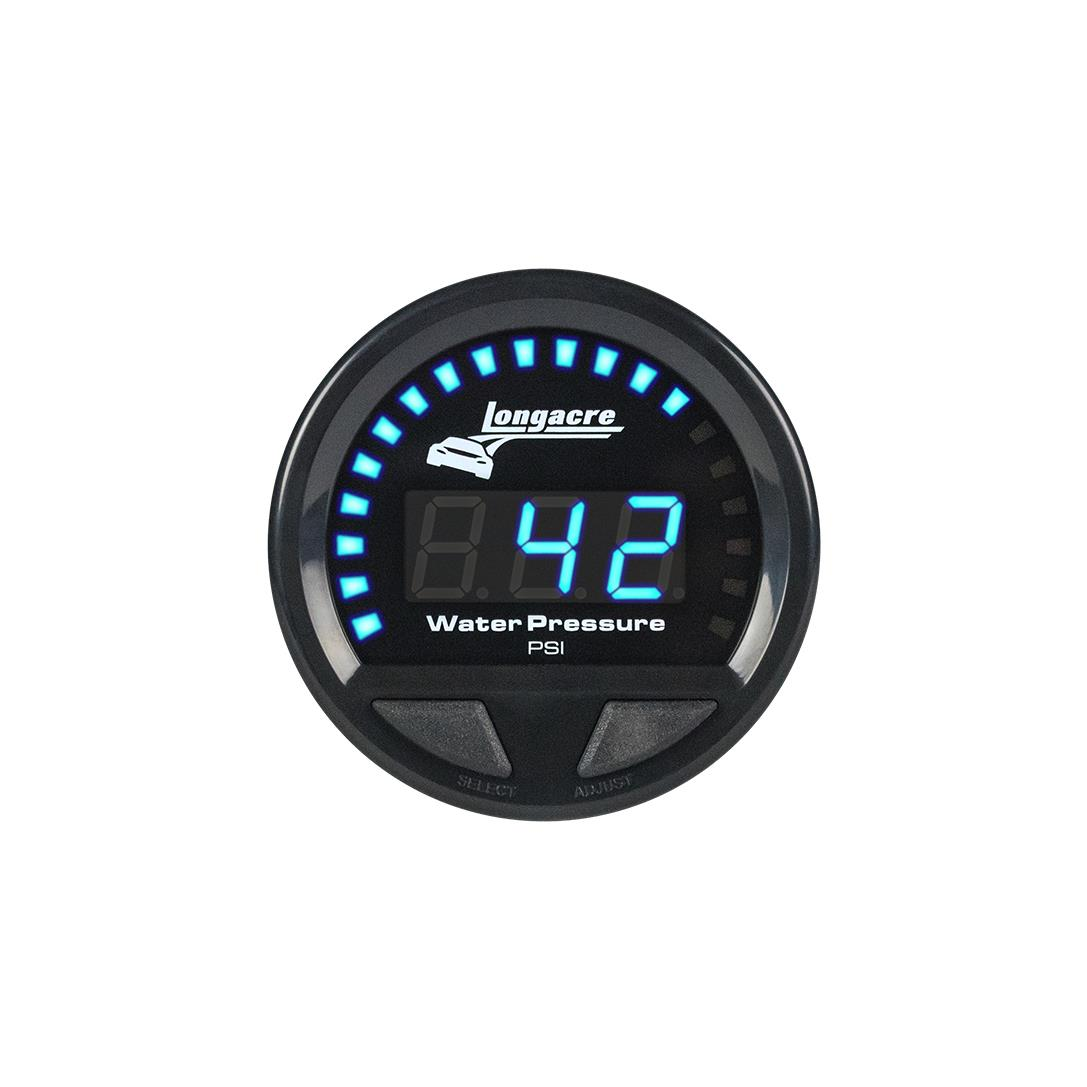 Digital Elite Waterproof Gauges, Water Pressure 0-60 psi, Sensor Included