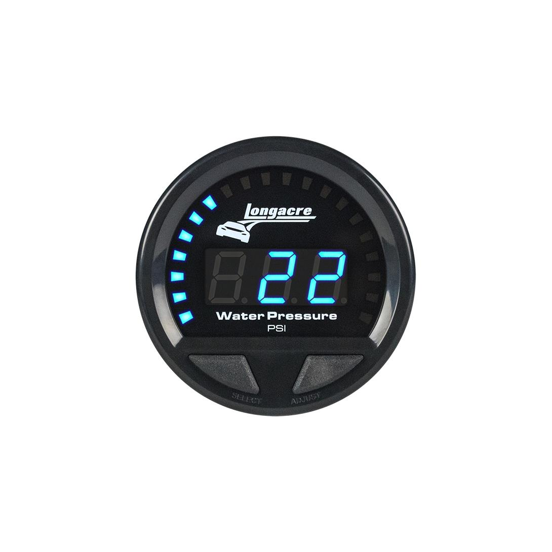 Digital Elite Waterproof Gauges, Water Pressure 0-60 psi, Sensor Not Included