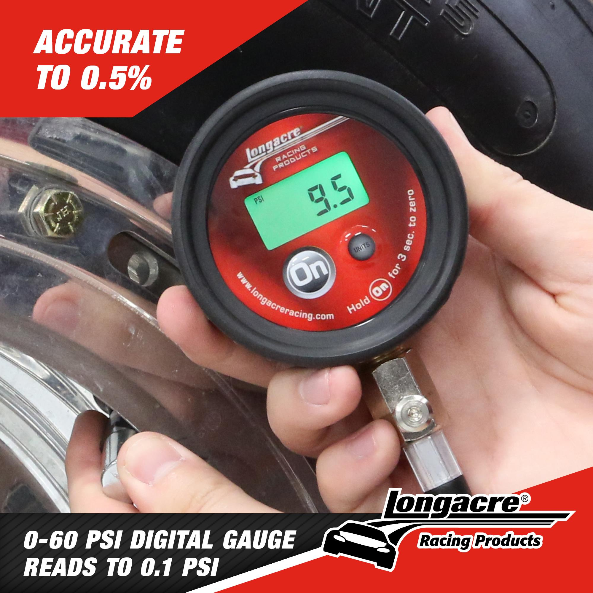 Semi Pro Digital Tire Pressure Gauge 0-60 psi