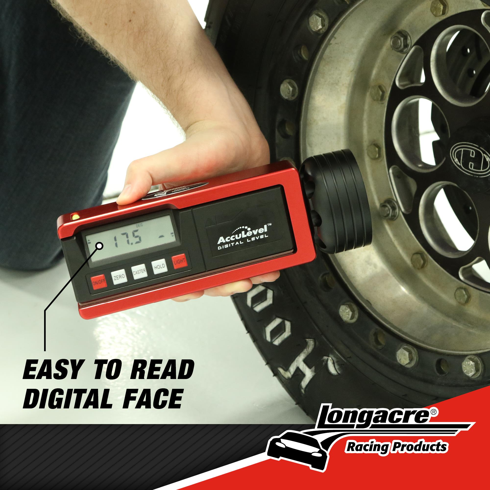 Digital Caster / Camber Gauge with AccuLevel™