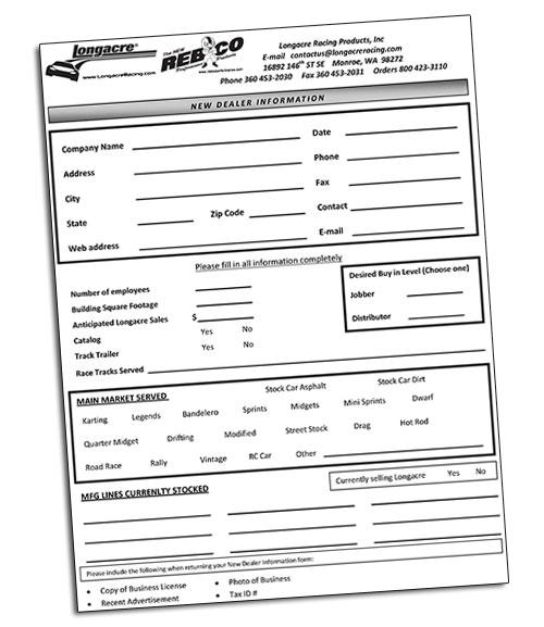 Dealer Info Form