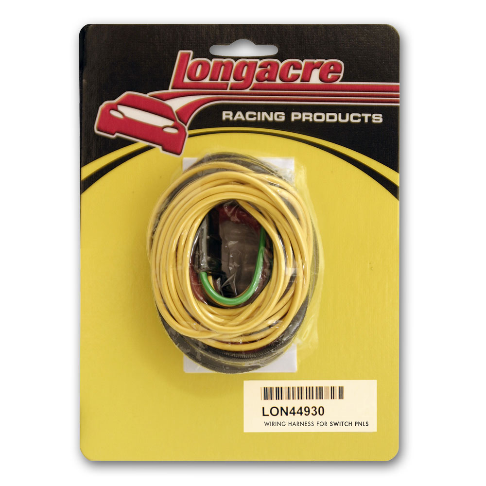 Wiring Harness Instructions Longacre 44930