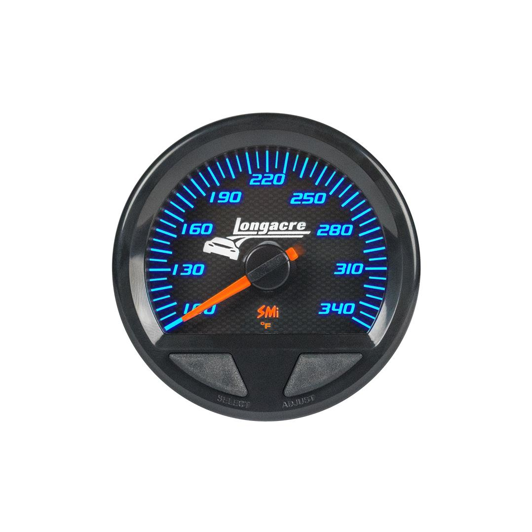 SMi™ Elite Waterproof Gauges, Oil Temperature/Water Temperature 100-340, Sensor Included