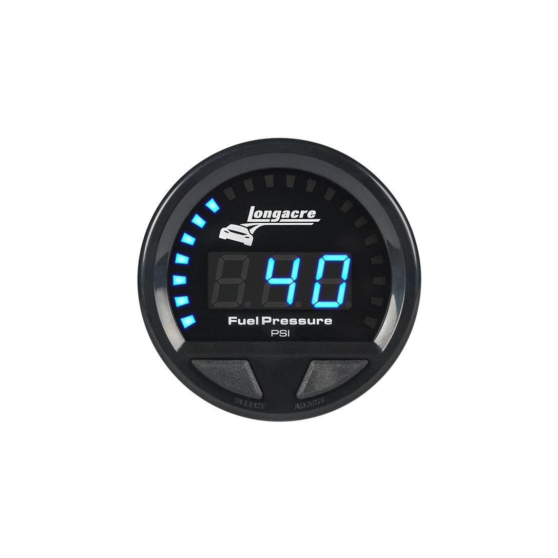Digital Elite Waterproof Gauges, Fuel Pressure 0-120 psi, Sensor Not Included